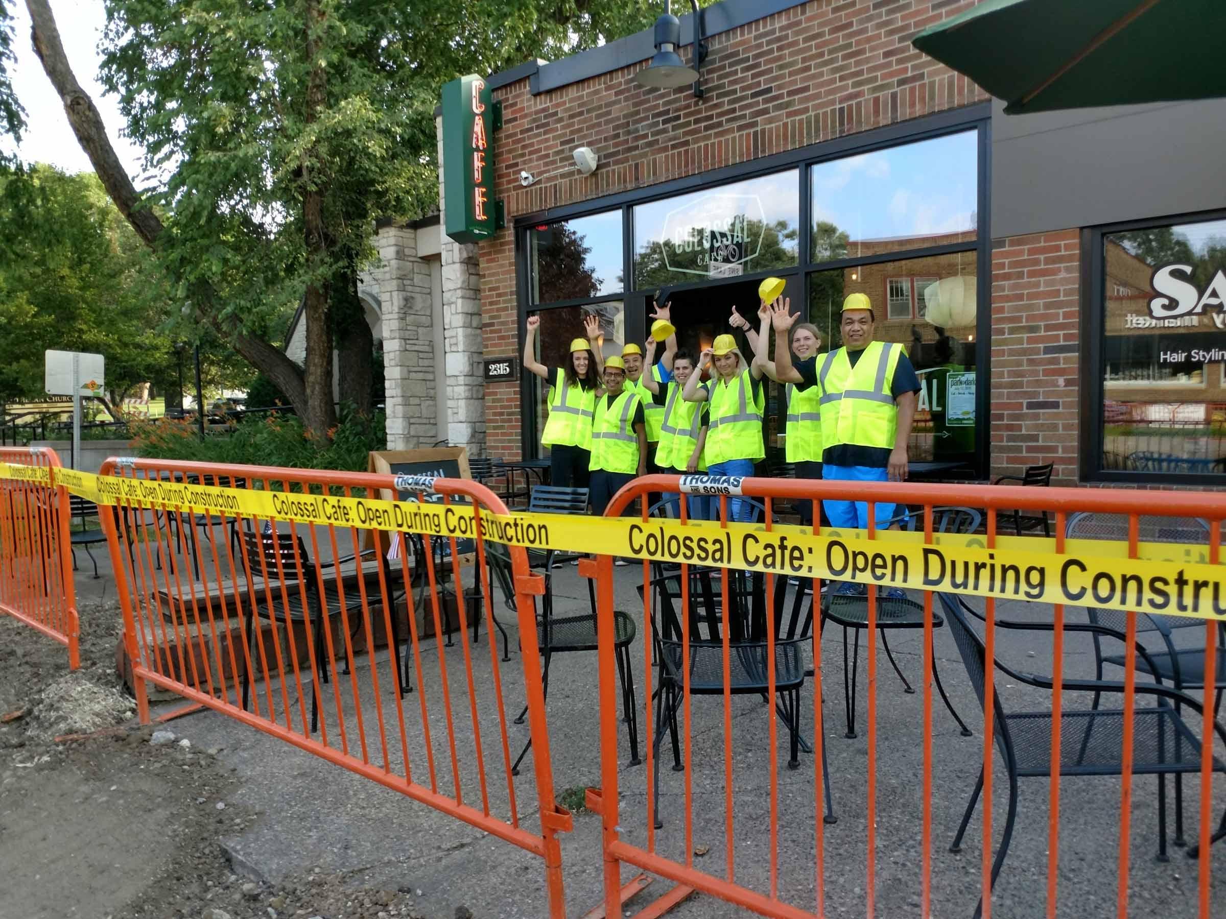 Como Location Open During Construction!